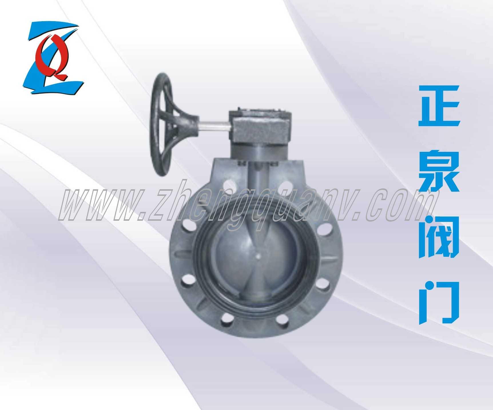 D371X-10S塑料涡轮蝶阀