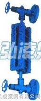 液位計:透光式玻璃板液位計