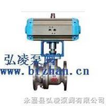 调节阀 电动调节阀 气动调节阀:ZJHR型精小型气动O型切断球阀