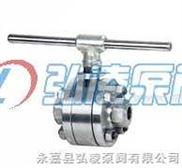 球阀:Q41H锻钢三片式硬密封球阀