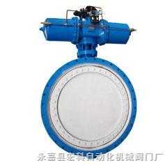 MQD343HP煤氣專用氣動蝶閥