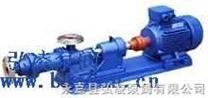 螺杆泵:I-1B系列不锈钢浓浆泵