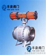 Q647F/H气动固定球阀