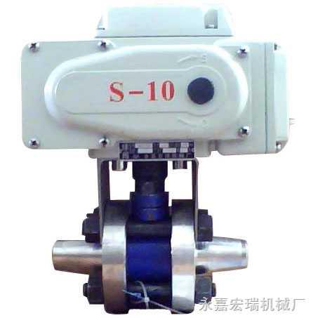 电动高压承插焊球阀