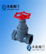 J11F塑料螺纹截止阀(RPP.PVC.PVDF,CPVC)