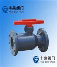 Q41F-10S法兰塑料球阀(RPP,PVC,PVDF,ABS,PPH)