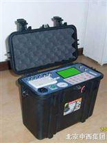 中西牌便攜式煙塵分析儀/檢測儀(隻測煙塵,壓力,流速,流量,煙溫)M123081