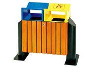 木质环保分类垃圾桶