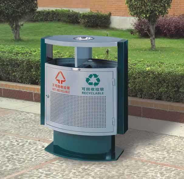 wj-9543-分类环保垃圾桶
