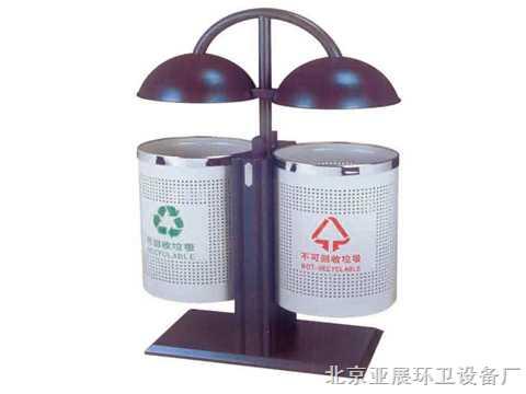 北京户外垃圾桶,北京铁制垃圾桶