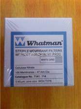 7141-114whatman混合纤维素酯微孔滤膜47mm*0.45um