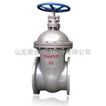 Z45H-10C低壓暗杆鑄鋼閘閥