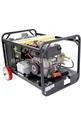 馬哈柴油驅動冷熱水高壓清洗機