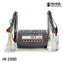 HI2550(HI2550C)实验室台式微电脑pH-ORP-ISE-EC-TDS-温度测定仪