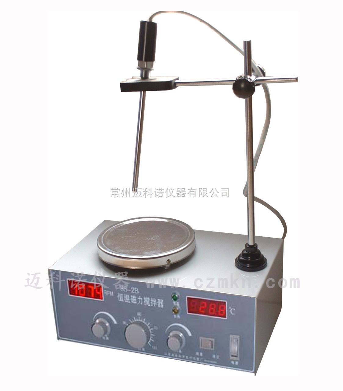 双数显恒温磁力搅拌器