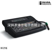 哈纳HANNA HI216(HI216D)实验室电导率测定仪