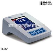哈纳HANNA HI4321(HI4321D)实验室高精度彩屏电导率测定仪