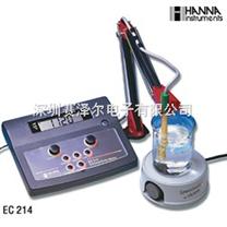 哈纳HANNA EC214(EC214D)实验室台式电导率测定仪