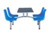 SMC餐桌模压座椅